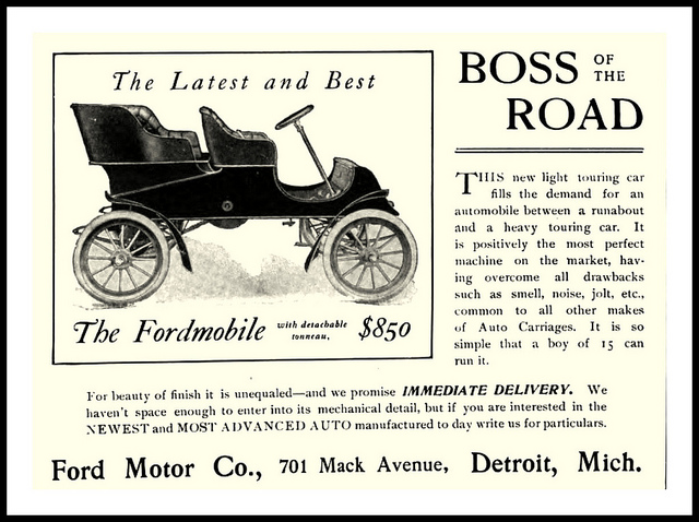 Pics for ford motor company 1903 for Ford motor company warranty information