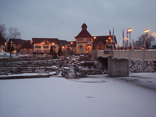 Frankenmuth at Christmas