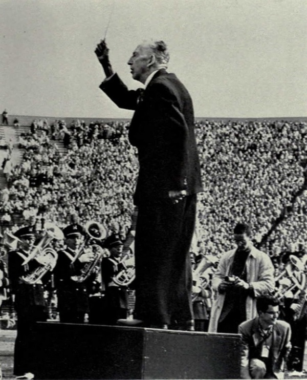 "1898 : Louis Elbel Pens iconic fight song ""The Victors"""