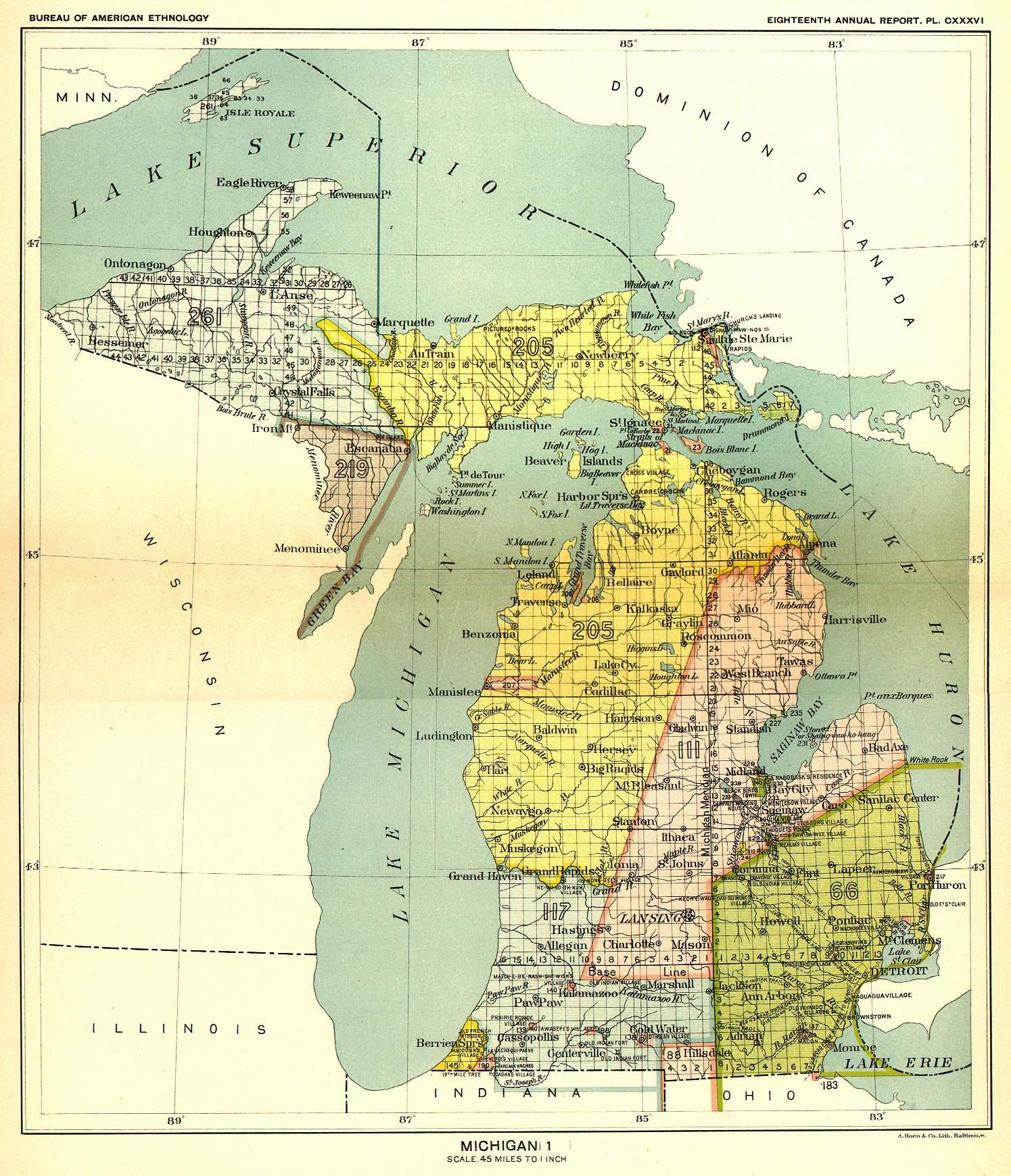 Detroit Maps Michigan US Maps Of Detroit USA And Canada Map NYC - Us weather bureau maps