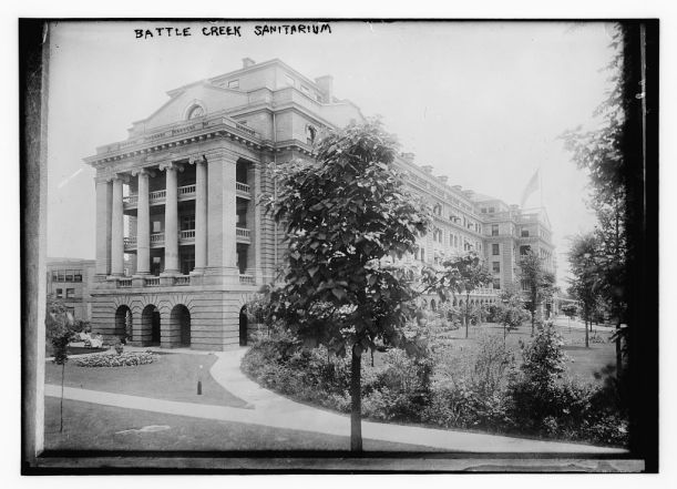 the Battle Creek Sanitarium
