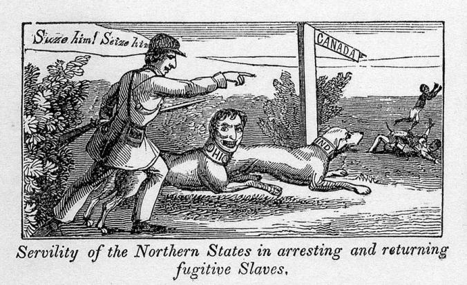 1855 : Michigan Pushes Back Against Fugitive Slave Law